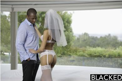 Chloe Amour - feketéző menyasszony
