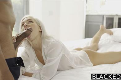 Kacey Jordan - fekete sráccal kúrok félre