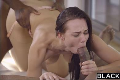 Fekete pasis szex - Aidra Fox